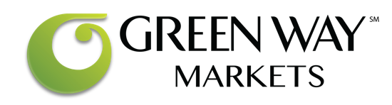 A theme logo of Green Way Markets